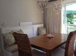 Round Back Dining Room Chairs Dining Table With High Back Bench Banquette Feat Rattan Dining