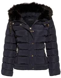 Eleanor Faux Fur Quilted Hooded Jacket - ShelikesShelikes & Previous; Next Adamdwight.com