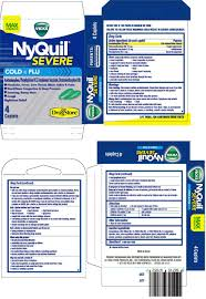 Lil Drug Store Nyquil Severe Cold And Flu Max Strength