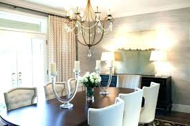 dining room chandeliers height