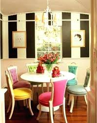 colorful dining room chairs colorful dining room chairs fabric table wooden epic in home um size