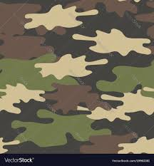 Army Camo Design Camouflage Seamless Pattern Military Repeat Army