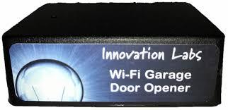 smart phone garage door opener wifi enabled app control for iphone or android