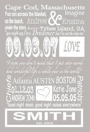 personalized wall canvas custom family name sign great addition for a family gallery wall wedding or personalized wall canvas