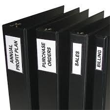 3 4 Inch Binders Self Adhesive Binder Labels 4 5 Inch Binders 2 1 4 X 3 12 Pk Set