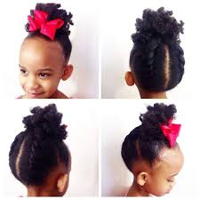 Natural Hairstyles Ponytails I Can Finally Give Her The Ponytail Shes Been Asking For