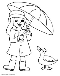spring coloring pages 4 spring clothes coloring pages for kids on coloring pages clothes printable