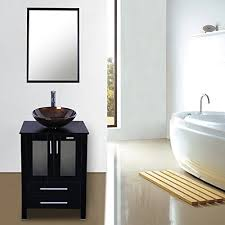 Eclife Updated Heighten 24u201d Bathroom Vanity Combo  24 In Vanity Combo70