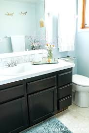 staining bathroom vanity how to use gel stain maintain wood grain and update a bathroom with staining bathroom vanity