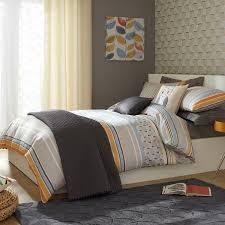 iliv fjord tangerine printed duvet cover sets  multi  duvet