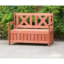 leisure season bench with storage