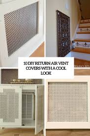 Decorative Return Air Vent Cover 10 Diy Return Air Vent Covers With A Cool Look Shelterness