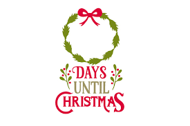 From the people of marion who were instrumental in allowing us to film our production, to the businesses like marion. Days Until Christmas Ribbon Svg Cut File By Creative Fabrica Crafts Creative Fabrica