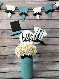 Little Man Centerpiecelittle Man Baby Showerlittle Man Propsbaby