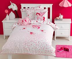 Kids Girls Bedrooms Unicorn Bedding Collection From Kids Bedding Dreams Whimsy Girls