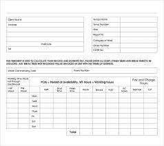 Time Sheet Doc 8 Timesheet Invoice Templates Samples Doc Pdf Free