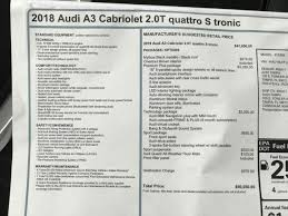 2018 audi mmi.  audi new 2018 audi a3 cabriolet 20 tfsi premium plus quattro awd convertible in  tampa 184355  reeves import motorcars for audi mmi