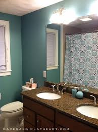 bathrooms color ideas. Modren Bathrooms Green Bathroom Color Ideas With Curtain On Bathrooms