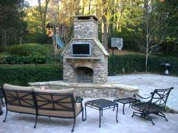 new outdoor fireplace tv impressive outdoor daybed area ideas with fireplaces and furniture creative for outdoor