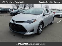 2018 New Toyota Corolla L CVT at Toyota of Fayetteville Serving ...