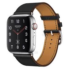 genuine leather watch band for apple watch series 4 40mm series 3 2