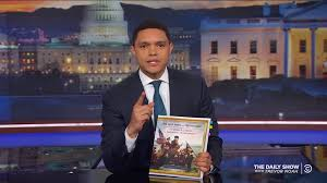 Comedy Central - The Daily Show with Trevor Noah Presents: The Donald J.  Trump Presidential Twitter Library Book | Clios