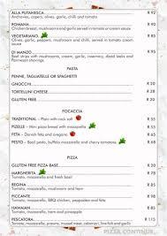 Italian Menu Inspiration Topolinos Italian Restaurant Hazyview Mpumalanga South Africa