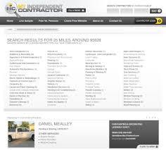 Independent Contractor Web Design My Independent Contractor Chico Web Design