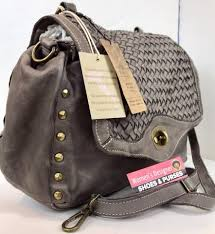 Designer Bags Made In Italy Made In Italy Vintage Luxury Handbag Gray Woven Leather Cross Body Bag 54 Off Retail