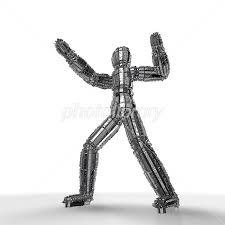 人間型のメカ イラスト素材 3500973 フォトライブラリー Photolibrary