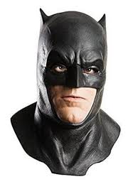 Batman Adult Latex Mask with Cowl - 2019 Costume Mask - Costume SuperCenter