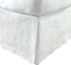 Patterned Bed Skirt