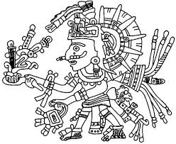 Small Picture Aztec Xochipilli Coloring Pages Bulk Color