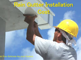 rain gutters cost. Brilliant Cost Rain Gutter Installation Cost Get Free Estimate For Your Gutters  Throughout O