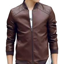 china artificial leather jacket for men at best s in desh daraz com bd