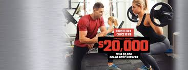 get fit challenge 50 000 grand prize package 30 day