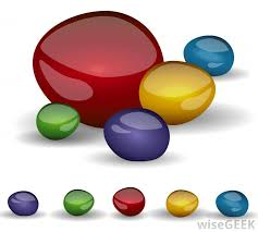 Jewel tones are rich colors, which resemble well-known gemstones like  emeralds, amethysts, rubies, topaz and sapphires.