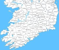 Ireland S Civil Registration Districts In County Order