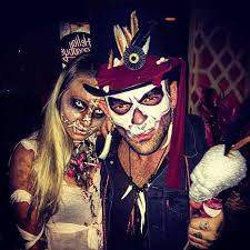 scary costume witch doctor and voodoo