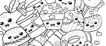 Draw So Cute Coloring Pages Food Coloring Pages Patinsudouest
