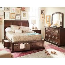 Hanover 5 Piece Queen Storage Bedroom Cherry