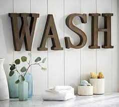 image of large letters for wall decor uk