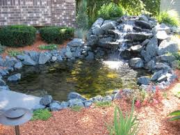 Small Picture Laguinho de jardim pequeno Pond waterfall Landscaping and Small