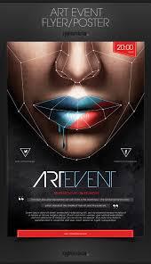 Art Event Flyer Art Event Poster Flyer On Behance
