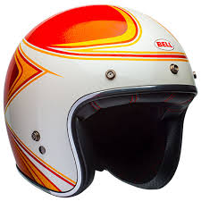 bell custom 500 copperhead orange white free uk delivery