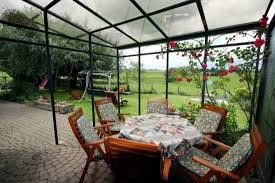 glass roof terrace for the benefits of a glass canopy