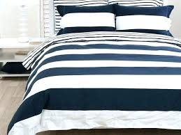 pictures gallery of navy blue and white striped bedding