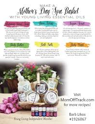 diy mothers day spa basket recipes