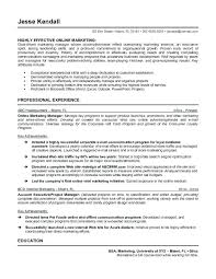 sample resume marketing sample resume for marketing manager medium small sales and marketing