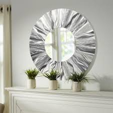 contemporary mirror wall art home accents mirrors contemporary